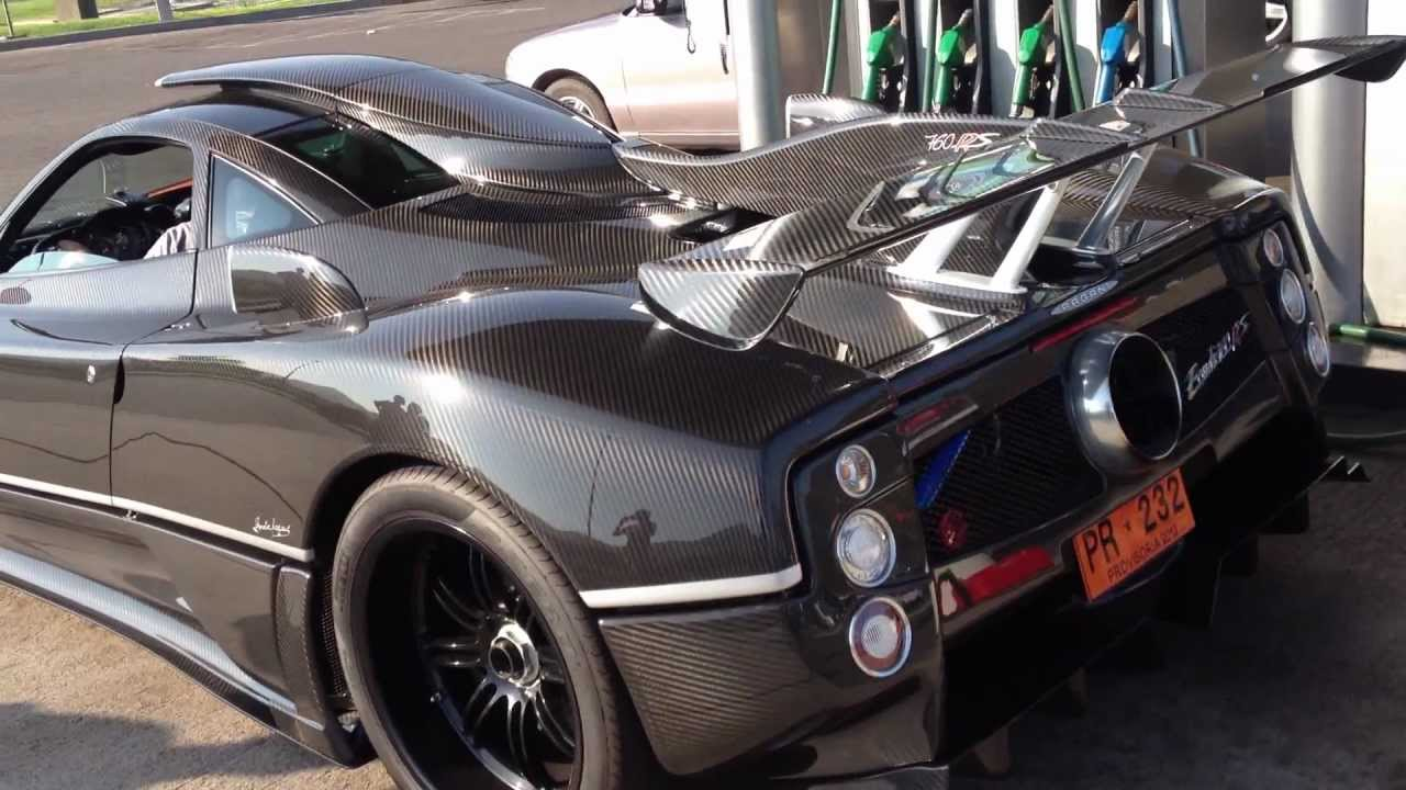 pagani zonda 760 rs - youtube