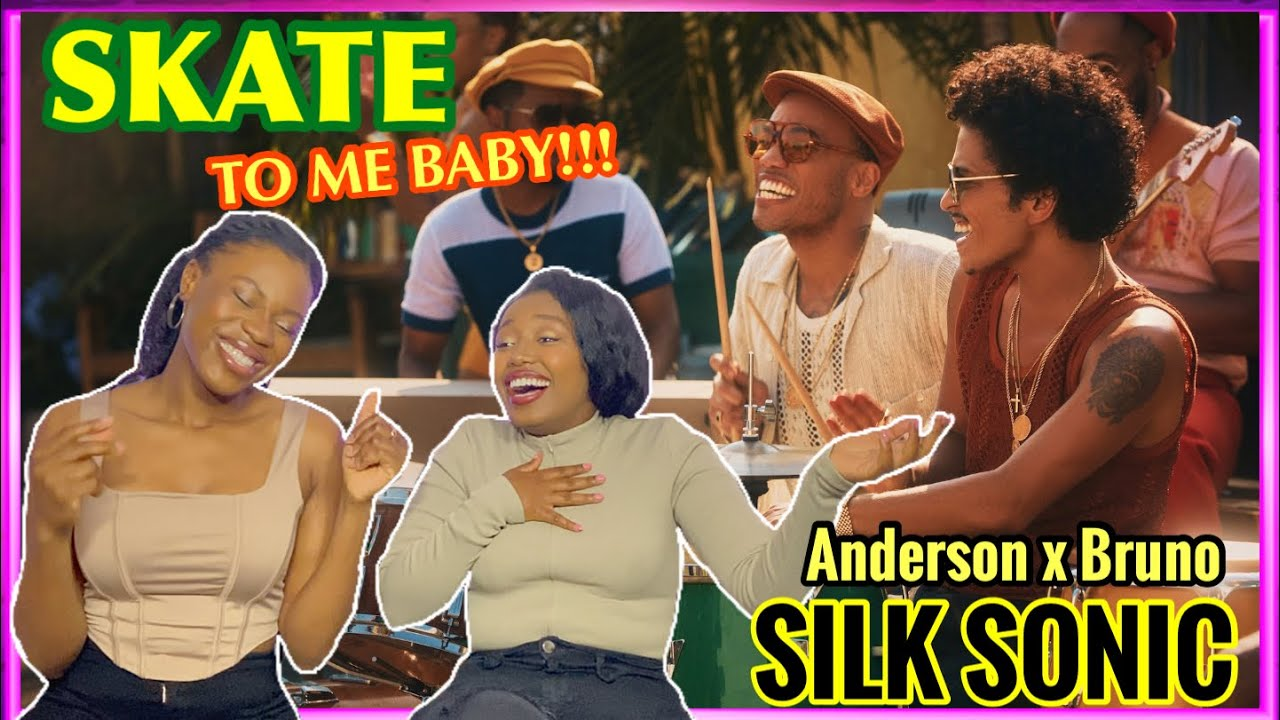 WE'LL SKATE TO YOU BABY🥰|Bruno Mars, Anderson .Paak, Silk Sonic - Skate reaction