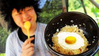 최후의 간장계란밥 먹방 Ăn cơm trứng