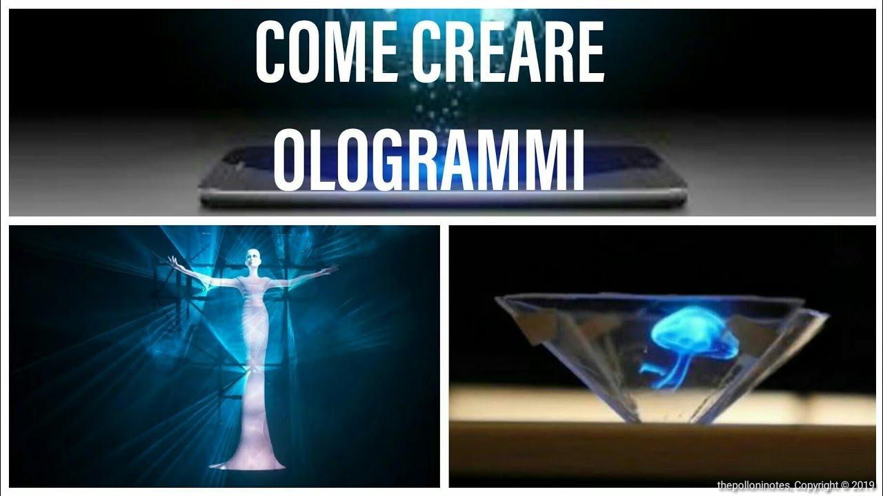 ologrammi da