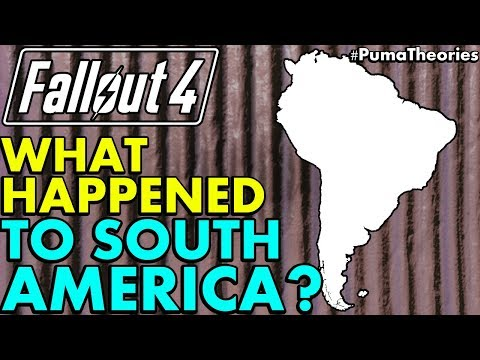 Fallout 4: What Happened to Brazil and South American Countries? (Lore and Theory) #PumaTheories
