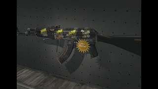 CS:GO Ak-47 StatTrak™ Elite Build field tested + sticker Flamie and Natus Vincere MLG Columbus 2016