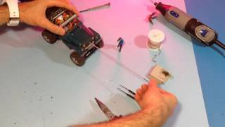 How To Make: Rc Simple Winch (micro Crawler)