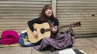 冨田麗香 / サボテンの花(チューリップ)cover 大阪千日前路上ライブ H...