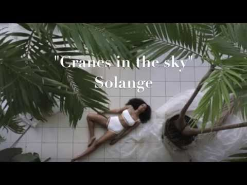 Solange - Cranes in the sky LYRICS