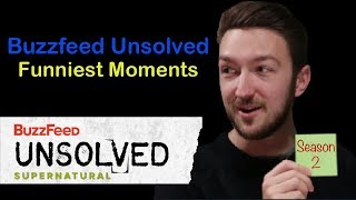 Buzzfeed Unsolved Supernatural S2 - Funniest Moments