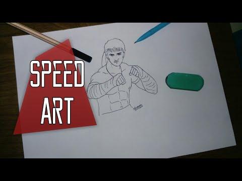 Desenhando Kla Free Fire Speed Art Youtube