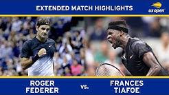 Roger Federer vs. Frances Tiafoe | 2017 US Open, R1