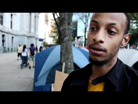 Occupy Philly: Why We Came, Interviews in the Crowd
