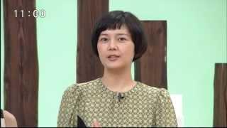 2012年8月27日(土) お誕生日前日の菊池亜希子さんが岩手の情報番組...