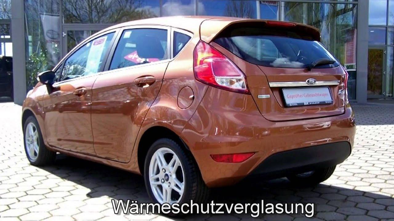 Ford fiesta 1 0 titanium k12668 braun metallic autohaus s for Brisbane braun metallic ford