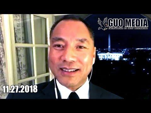 2018年11月27日文贵在华盛顿报平安直播视频!