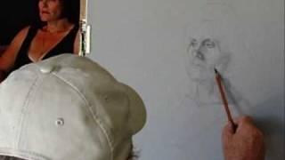 Watch Michael Vires draw a portrait