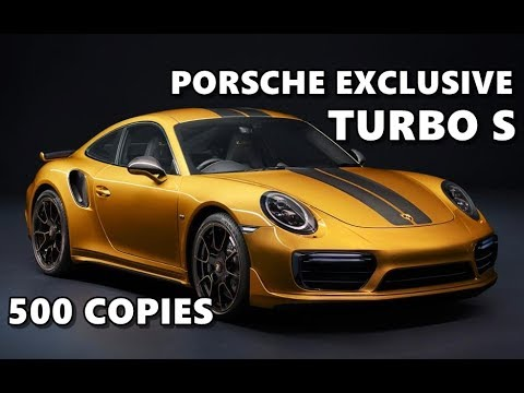 Porsche 911 Turbo S Exclusive Series 2017 Youtube