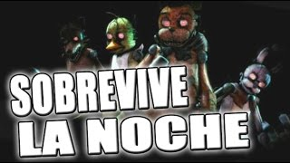 survive the night sobrevive la noche five nights at freddy s   zellendust