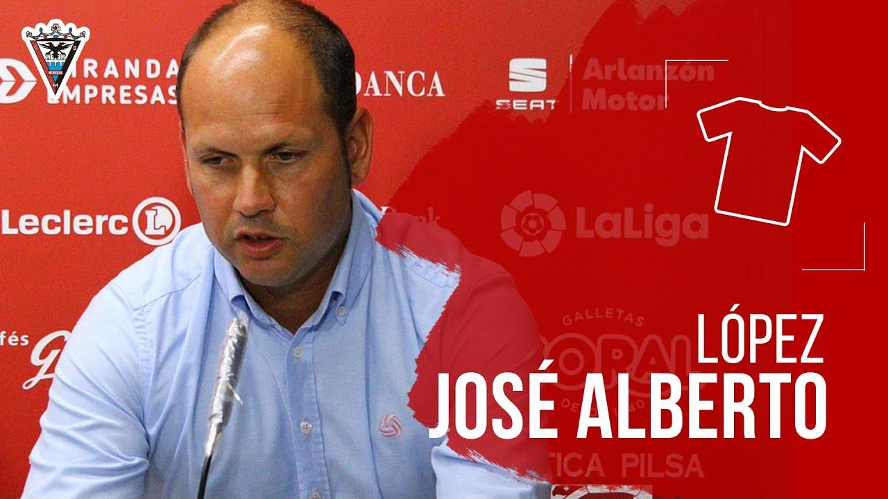 Presentación Jose Alberto CD Mirandés