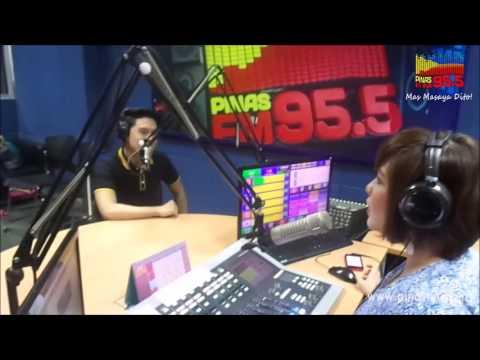 Timmy Pavino on Pinas FM 95.5