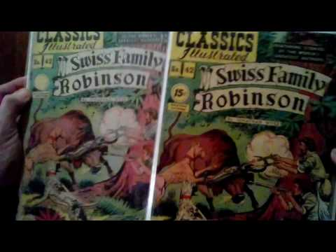Classic Illustrated comic collection