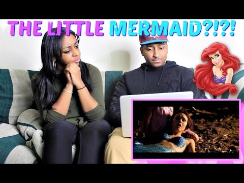 The Little Mermaid 2017 - Official Trailer REACTION!!!