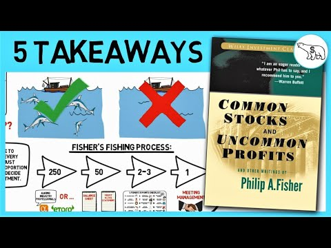 COMMON STOCKS AND UNCOMMON PROFITS SUMMARY (BY PHILIP FISHER)