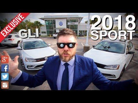 🔴 NEW 2018 VW Jetta GLI vs Jetta SPORT SE   Specs, Features & Pricing   1st Look AutoVLOG