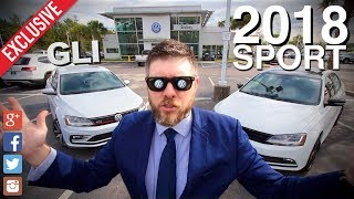 🔴 NEW 2018 VW Jetta GLI vs Jetta SPORT SE | Specs, Features & Pricing | 1st Look AutoVLOG