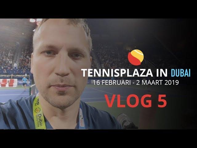 Tennisplaza in Dubai - Vlog 5: Eitje voor Federer