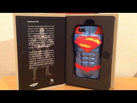 DC Comics New 52 Superman 3D Protective iPhone 5 Case