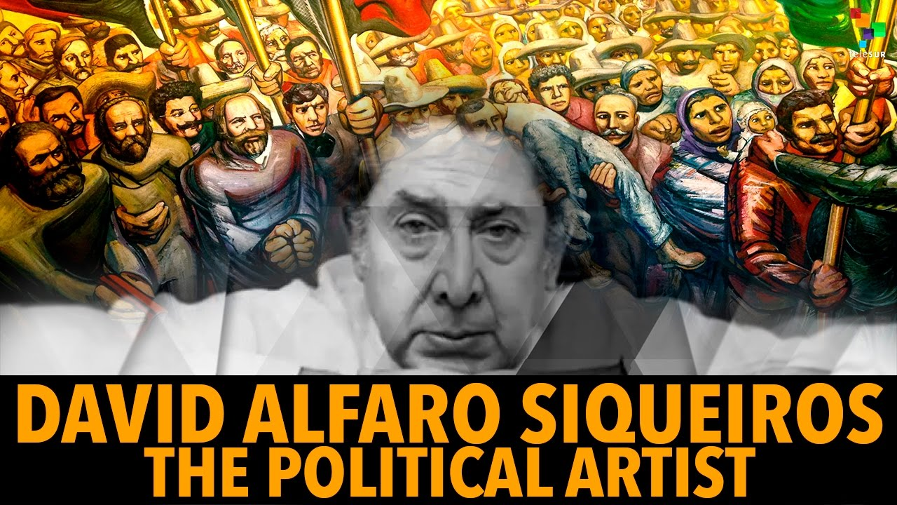 david alfaro siqueiros the activist artist Artist and political activist, david alfaro siqueiros (1896 -1974), was a vital member of the mexican school of painting along with diego rivera and josé clemente orozco he continues to be viewed as one of the most important mexican artists of the twentieth century while his artistic influence spread far beyond mexico's borders.