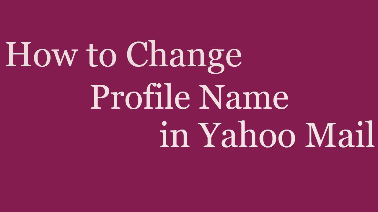 Profile yahoo com