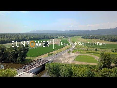 Solar Power by New York State Solar Farm