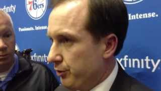 Sixers hinkie on coach, free agents