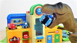 恐竜がやってきた! レッツゴー!アイアンマン!タヨの学校を守れ!