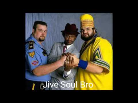 "WWE Big Boss Man, Slick, & Akeem 1st Theme ""Jive Soul Bro"" (HQ - HD)"