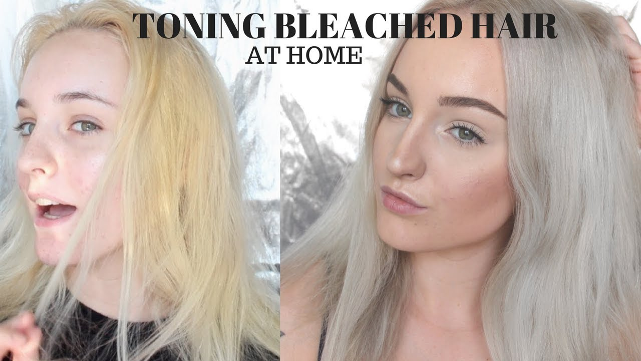 How To Tone Blonde Hair At Home Youtube