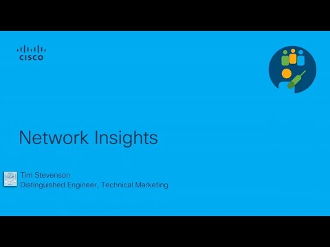 Cisco Network Insights Overview