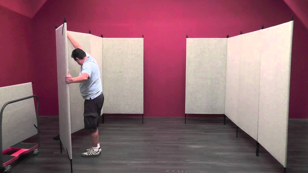 Trade Show Booth Walls : Pro panels booth set up youtube