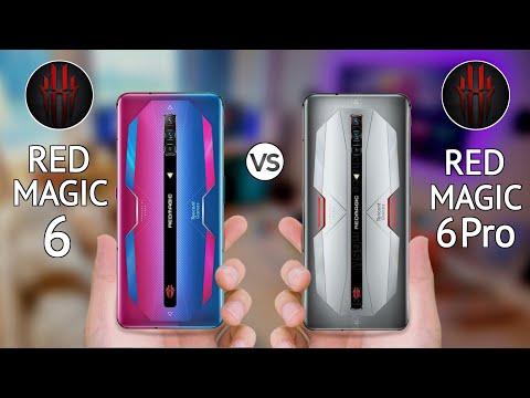 ZTE Nubia Red Magic 6 vs Red Magic 6 Pro
