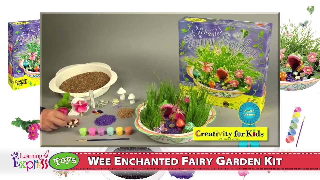 Wee Enchanted Fairy Garden Kit YouTube