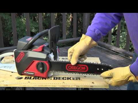 Safety Tips for Using a Chainsaw - Part 1