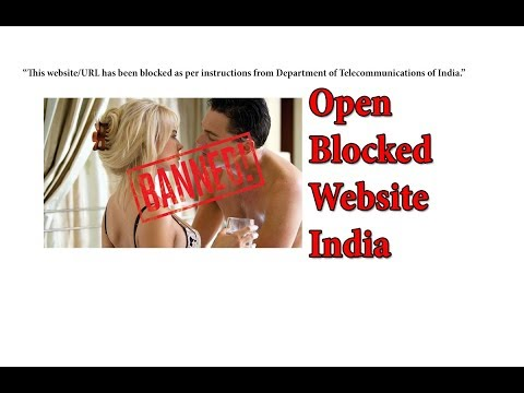 How To Open Blocked Website India Hindi | Banned website In India Hindi[हिन्दी]