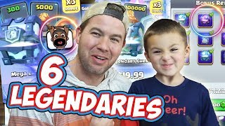 MY SON has an INSANE CHEST OPENING from Offers and Rewards! Clash Royale