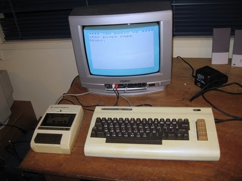 The Commodore VIC-20: As seen in Tezza's classic computer collection