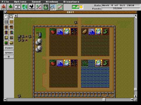 SimFarm - gameplay