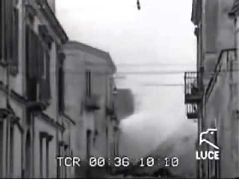 Tammurriata - Bella figliola ca te chiammi Rosa. NCCP.  Marzo 1944. Eruzione del Vesuvio..