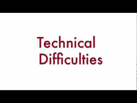 GAR Weekly Technical Difficulties