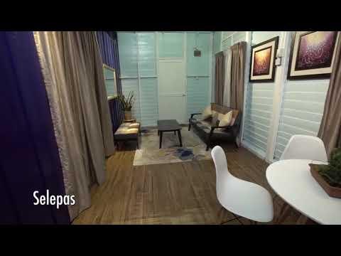 Penggunaan Warna Biru Navy Dalam Rumah Jenis Papan Tradisional Ep01 Impiana S1 Youtube