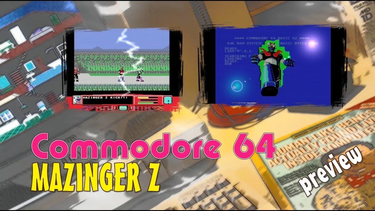 Commodore 64 -=Mazinger Z=- preview