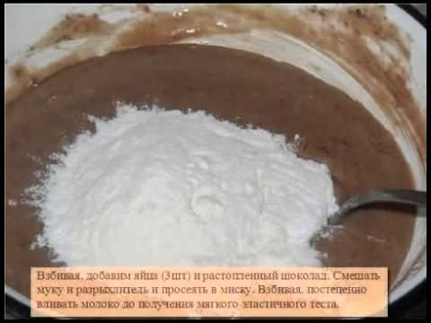 Домашний торт.  Пошаговая видео инструкция.   Бисквит