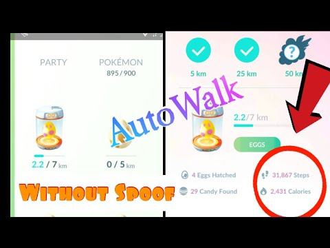 Autowalk in Pokemon Go at insane Speed without spoof | DeFit App Method